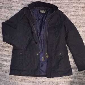 Barbour jacket with insulated line Medium